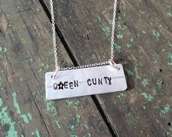 C#nt Necklace Silver Chain Handmade Jewelry Funny Girlfriend Gifts Hand Stamped Gift for Her Queen Bitch Unique Offensive Swearing FREE Post