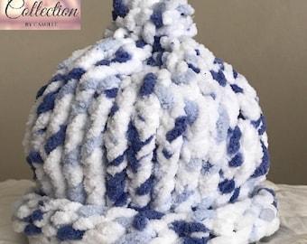 Baby Beanie-Customer Favorite Blue and White