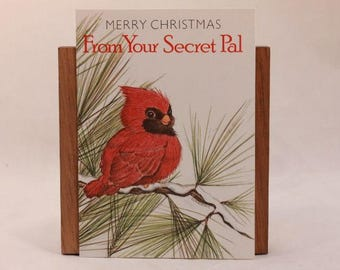 """NEW! Vintage """"Christmas"""" by Morning Star Greeting Card. 6 Mini Cards with Envelopes."""