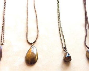 Tigers Eye Jewelry Designed by Andrea Comsky