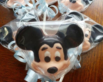 12 - Mickey Mouse Chocolate Lollipop