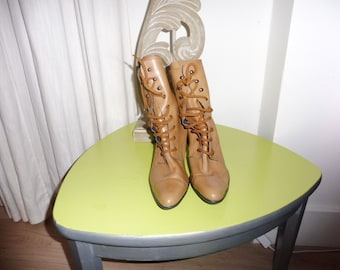 Boots leather synthetic size 38 EN