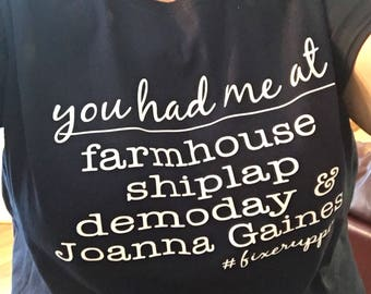 You had me at..farmhouse, shiplap, demoday