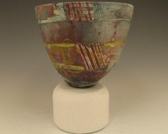 Bowl - 4 red stripes