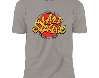 Bill & Ted's Wyld Stallyns Logo - Men's T-shirt