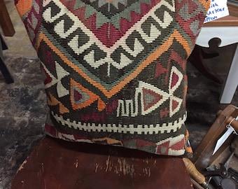 Kilim Pillow Handmade in Turkey