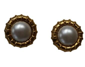 CHANEL - earrings ears/clips vintage