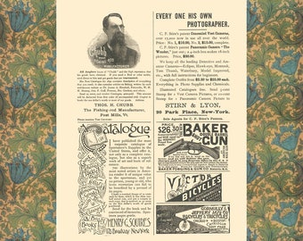 Vintage Fishing Poster Poster, Shotgun Print, Office Wall Decor, Home Wall Art