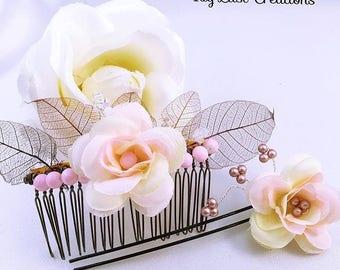 Comb wedding Duo comb flower wedding pic