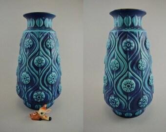 Vintage vase / Bay / model 76 30 / Bodo Mans | West Germany | WGP | 60s