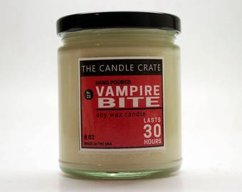 Vampire Bite 8 Ounce Scented Soy Wax Candle