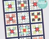 """Bright Star by Camille Roskelley of Thimble Blossoms -212 Finished Quilt Size- 63"""" x 83"""""""