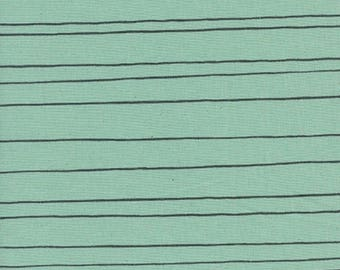 1 Yard Cozy by Cotton and Steel- 5149-02 Pencil Stripes Mint