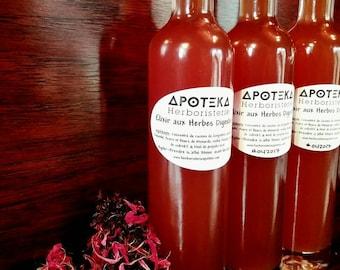 Digestive ~ honey digestive herbal elixir ~ excerpt from medicinal plants ~ Bitters