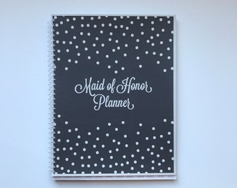 Maid of Honor Planner, Bridal Shower Planner, Bachelorette Bash Planner, Maid of Honor Checklist, Wedding Planner- Starry Night