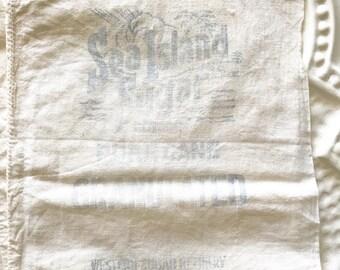 Vintage Sugar Sacks Set of 4