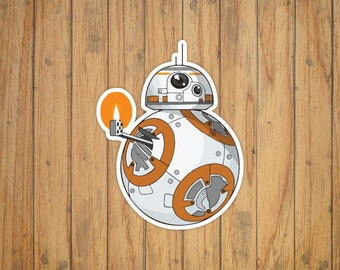 Star Wars - The Force Awakens BB-8 Decal/Sticker