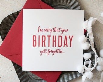 Holiday Birthday Card, December Birthday, Birthday Card, Christmas Birthday, Funny Holiday, Holiday Humor, Birthday Humor, Birthday Party