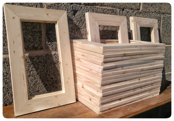 25 Wood Frames No Hardware Or Glass Bulk Wood Frames 5
