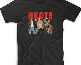 New Kids On The Block Shirt Premium SOFT STYLE Shirt Fan Inspired NKOTB Fan T Shirt