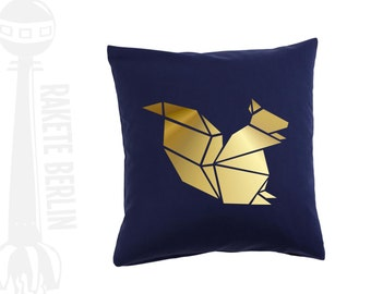 cushion cover  'Squirrel' Origami
