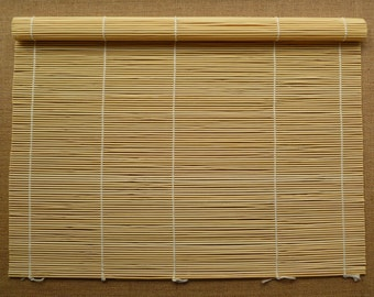 Large natural bamboo wet felting mat - bamboo rolling mat - wet felting equipment - felting mat - wet felting mat