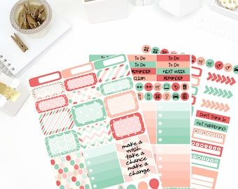Dream Catcher Weekly Kit Stickers! Perfect for your Erin Condren Life Planner, calendar, Paper Plum, Filofax!