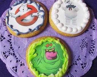 12 Ghostbusters characters sugar cookies