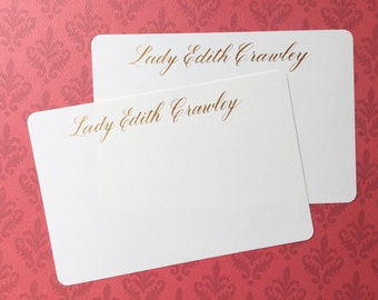 Calligraphy Note Cards Set