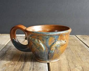 Winged mug