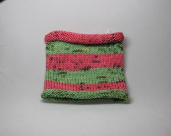 Watermelon Explosion Self Striping Sock yarn