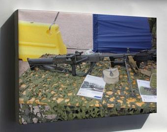 Canvas 24x36; 7,62 Kvkk 62 Machine Gun Helsinki 2012 1
