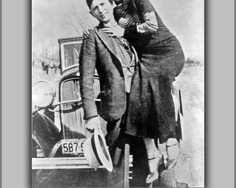 16x24 Poster; Bonnie And Clyde