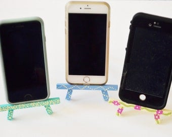 Iphone Stand, Iphone holder, iPhone stands, iPhone easel,Office,Room,Office decor,Room decor, dorm, dorm rom,desk,desk accessories,