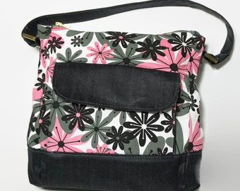Relax Flowery Hobo Bag