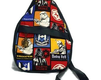 Star Wars Sling Back Pack (Glow in the Dark)
