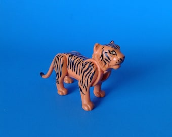 "Fisher Price Adventure People "" #304 Safari Tiger Figure"" 1970's"