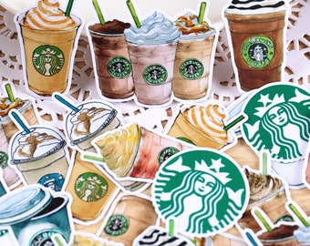 Starbucks Coffee Stickers