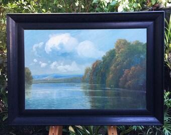 Large HC Simpson Tweed River 1930