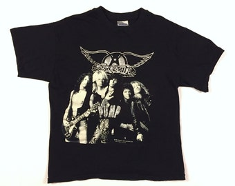 Vintage 80s AEROSMITH Pump 1989 concert shirt