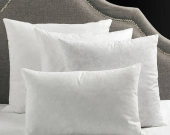 pillow inserts down pillows set of 2 pillows polyester pillow pillows for - Down Pillow Inserts