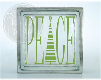 Peace (tree) Vinyl Decal