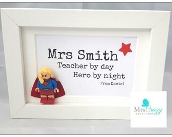 Superhero teacher gift