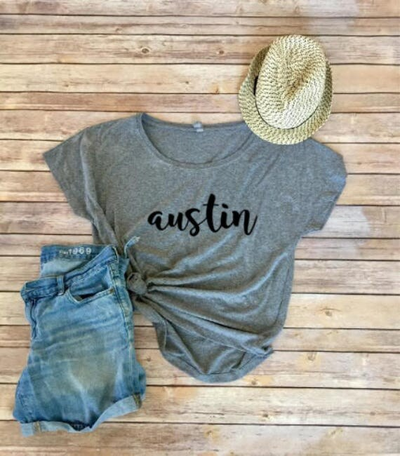 Austin dolman tee texas shirt womens shirt request a custom order and have something made just for you negle Gallery