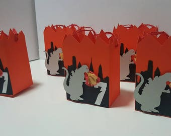 Godzilla Inspired Favor Boxes (5 included in price)