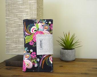 Nappy Wallet, diaper wallet - floral