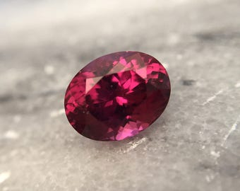 2.90ct Raspberry Pink Garnet Rhodolite Oval