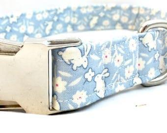 Blue Easter Dog Collar for Boys - Baby Blue Dog Collar - Spring Dog Collar - Girl Dog Collar - Stylish Dog Collar - Fancy Dog Collar