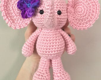 Stuffed Elephant Amigurumi