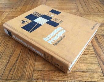 Accounting Principles - Hollow book box